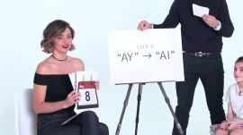 Miranda Kerr Teaches Little Kids How to Speak with an Australian Accent