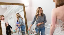 Sarah Jessica Parker Surprises Unsuspecting Brides-To-Be at Kleinfeld