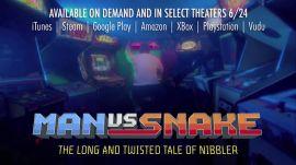 """""""Man vs Snake"""" documentary clip: """"The Billion Point Game"""""""