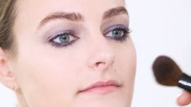 Makeup Tutorial: Shimmery, Navy Smoky Eyes