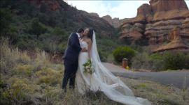 An East-Meets-West Wedding in Sedona, Arizona