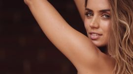 Ana de Armas Gets Silly Behind the Scenes of her GQ Photo Shoot