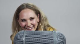 "Juno Temple Does ASMR: ""Quietly"" Channeling Blondie"