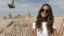 Victoria's Secret Model Izabel Goulart's Rio Walking Tour