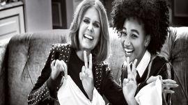 Amandla Stenberg And Gloria Steinem Talk Feminism