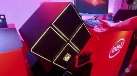 Close-up with the new HP Omen desktop (and VR prototype)