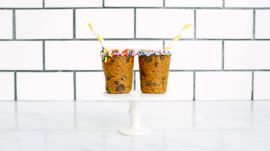 How to Make Sprinkle-Topped Cookie Cups