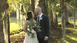 A Simple and Sweet Outdoor Wedding at a Plantation Home in Charleston