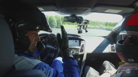 A hot lap (and drifting) with Ben Collins in a Ford Focus RS   Ars Technica