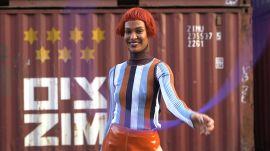 Joan Smalls May Be the World's Greatest Hula Hooper