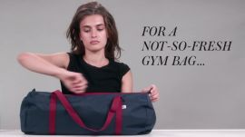 Beauty Hacks: Gym Bag Edition