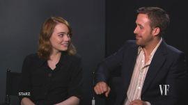 """Emma Stone and Ryan Gosling Describe the Magic of """"La La Land."""""""
