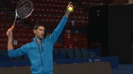 Novak Djokovic Gives Vogue.com a Tennis Lesson
