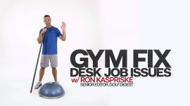 Gym Fix: Two Exercises To 'Address' Bad Posture