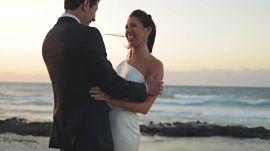 One Couple's Dreamy Oceanfront Wedding in Hawaii