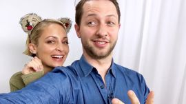 Nicole Richie Hijacks a Superfan's Phone with Derek Blasberg
