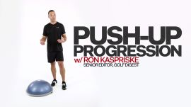 Gym Fix: Push-Up Progression