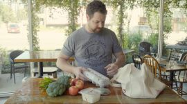 Austin Chef Bryce Gilmore Makes a Unique Egg Dish for Thanksgiving