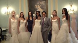Zac Posen Shows Off His New Wedding Dresses