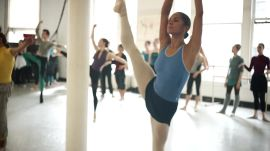 We Took A Ballet Class With Misty Copeland