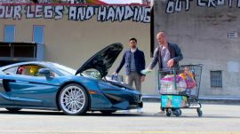 How Many Groceries Can You Pack Into a $200K McLaren Supercar?