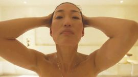 Korean Actress and Pop Star Jihae's All-Natural Beauty