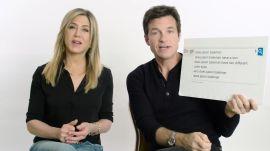 Jennifer Aniston & Jason Bateman Answer the Web's Most Searched Questions