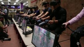 CES 2017: VirZoom VR vSports demo | Ars Technica