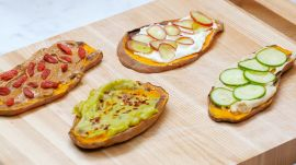 "4 Ways To Make Gluten-Free Sweet Potato ""Toast"""