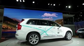 "NAIAS 2017: Volvo's ""Drive Me"" self-driving research program 