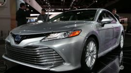 NAIAS 2017: Toyota's 2017 Camry hybrid | Ars Technica