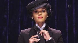 Janelle Monaé Ties a Windsor Knot While Impersonating a Puppy