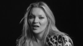 "Photographers ""Always Ask"" Kate Moss to Take Her Clothes Off"