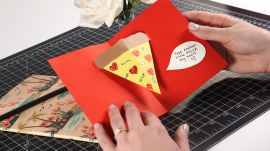 DIY Pizza Valentine