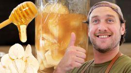 Brad Makes Fermented Garlic Honey