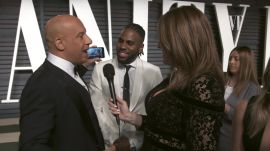Vin Diesel Takes Over the V.F. Red Carpet