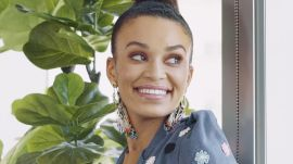 Pearl Thusi's Trick for Long Lashes