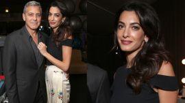 Amal Clooney's Amazing Pregnancy Style