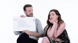 Anne Hathaway & Jason Sudeikis Answer the Web's Most Searched Questions