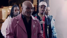 Mike Tyson Shows Migos His Bird Collection