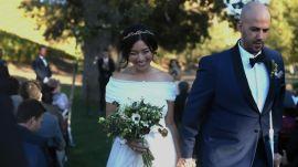 Fashion Blogger Honey & Silk's Provencal Wedding in Southern California