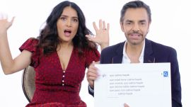 Salma Hayek & Eugenio Derbez Answer the Web's Most Searched Questions