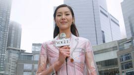 Liu Wen Knows the Secret to Being a Modern Supermodel  Supermodel!