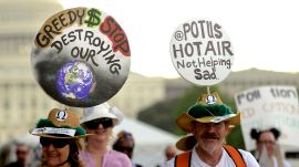 The Best Signs From the Climate Change March