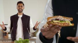 Hasan Minhaj's Signature Sandwich: The Minhaj à Trois