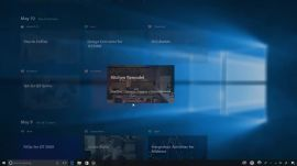 Resuming an activity in Windows Timeline | Ars Technica