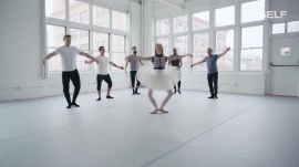 CrossFit Athletes Try to Keep Up with a Professional Ballerina