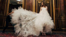 Oscar de la Renta's Wedding Dresses: Spring 2018