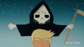 A Genealogy of the Cartoon Grim Reaper