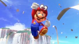Watch Mario's new moves in Super Mario Odyssey